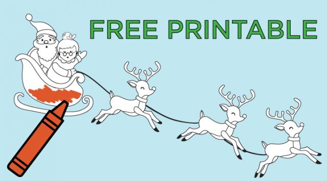 Free Christmas Activity Printable