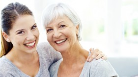 Work closely with your loved one's care team to ensure dental health is a priority, especially when many seniors struggle to maintain their oral health.
