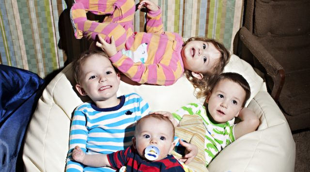 Here's 1 rule for the babysitter must follow: the kids need to brush their teeth.
