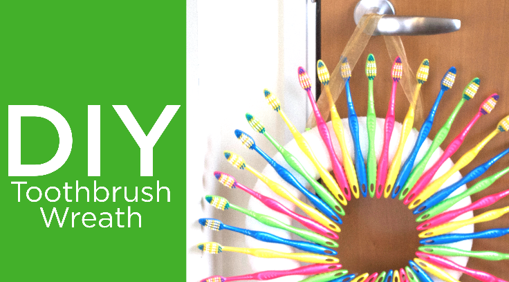 Delta Dental of Wisconsin - Get Crafty with Extra Toothbrushes
