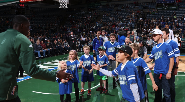 Delta Dental of Wisconsin Milwaukee Bucks Starting Lineup Sponsorship