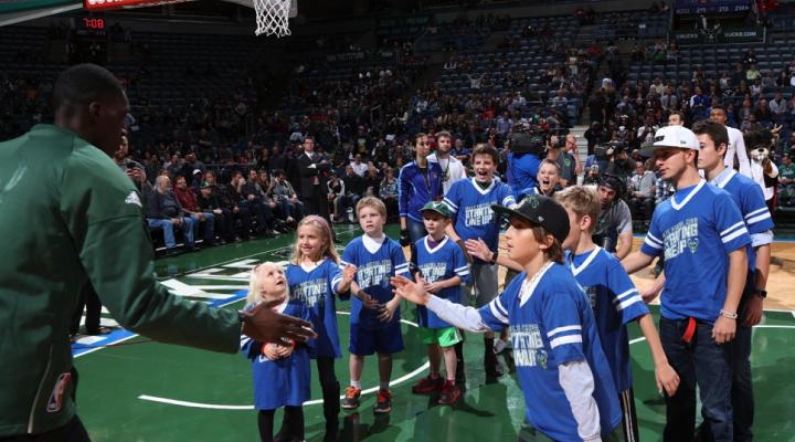 Delta Dental of Wisconsin Milwaukee Bucks Starting Lineup Sponsorship