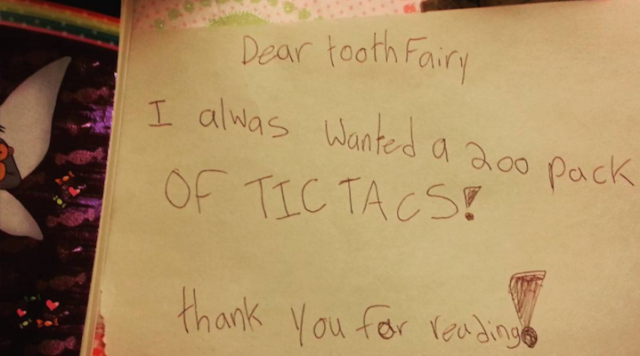 5 Hilarious RequestsFrom Kids to the Tooth Fairy