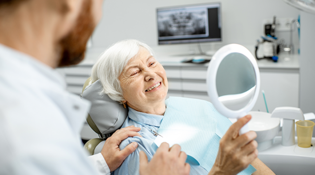 dental health related changes in older adults