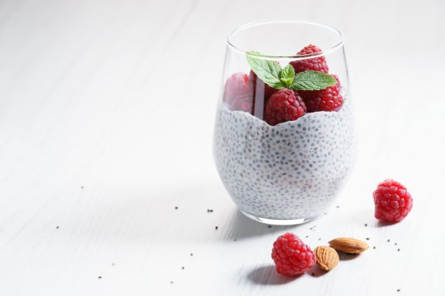 Whether you enjoy it as a dessert, snack, or breakfast, this creamy pudding makes a sweet treat without the cavity-causing sugar. The key ingredient – chia seeds